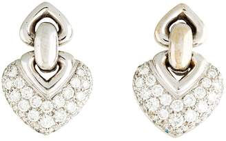 Bulgari White gold earrings