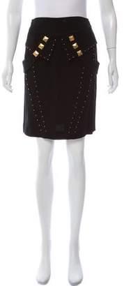 Temperley London Embellished Knee-Length Skirt