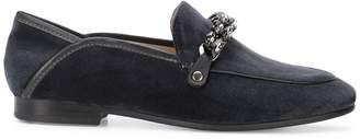 Lola Cruz chain detail loafers