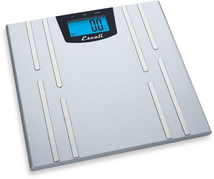 Escali Body Fat, Water, Muscle Mass Bathroom Scale