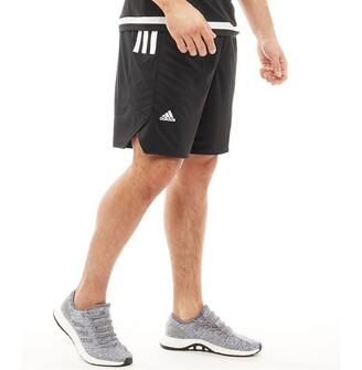 adidas Mens Ekit Basketball Shorts Black/White