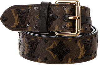 Louis VuittonLouis Vuitton Monogram Eclipse Belt