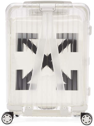 Off-White Off White White RIMOWA Edition See Through Carry-On Suitcase