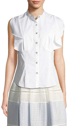 Temperley London Sunray Yoke Shirt