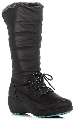 Khombu Ashton Cold Weather Tall Boots $95 thestylecure.com