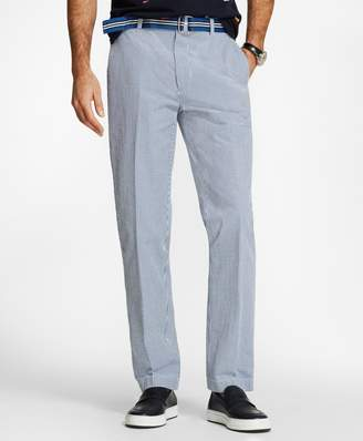 Brooks Brothers Clark Fit Gingham Seersucker Pants