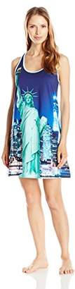 Bottoms Out Women's Sublimation Print Sleep Tank