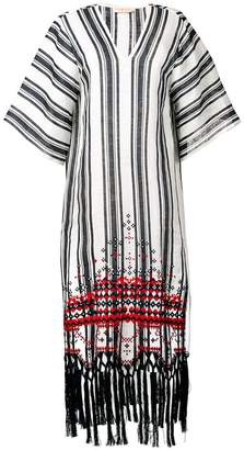 Tory Burch striped kaftan