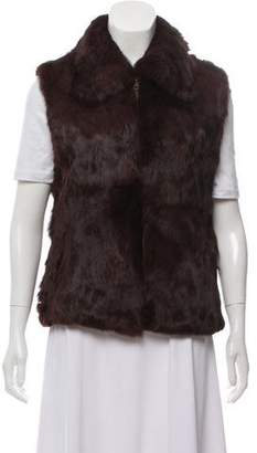 Surell Sleeveless Fur Vest