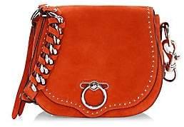 Rebecca Minkoff Women's Small Jean Suede Saddle Shoulder Bag