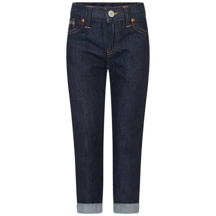 Ralph LaurenBoys Blue Conrad Wash Skinny Jeans
