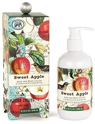 Sweet Apple Hand Body Shea Butter Lotion 8 oz Michel Design Works Gift