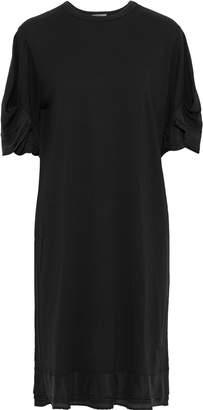 Clu Silk-trimmed Cotton-jersey Dress