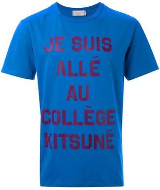 MAISON KITSUNÉ 'Je Suis' T-shirt