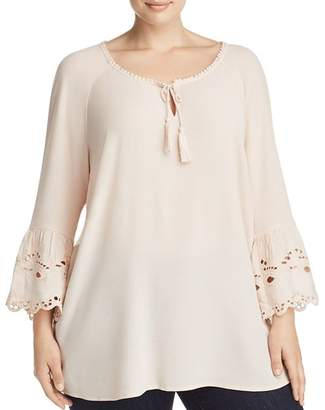 Estelle Plus Estelle On a Whim Embroidered Peasant Top - 100% Exclusive