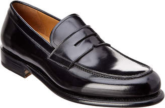 Salvatore Ferragamo Leather Penny Loafer