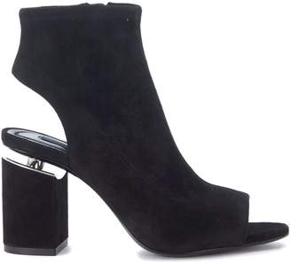 Alexander Wang Lena Black Suede Ankle Boots