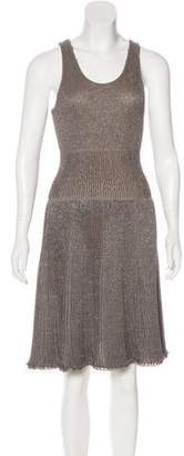 Maison Rabih Kayrouz Sleeveless Knee-Length Dress w/ Tags