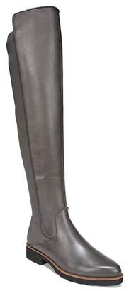 85e0d08ef13 Franco Sarto Gray Leather Women s Boots - ShopStyle
