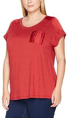 Zizzi Women's One, SS T-Shirt,(Manufacturer Size: Small)