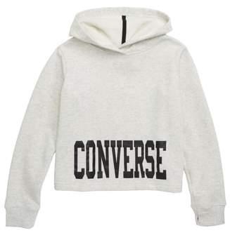Converse Crop Hoodie