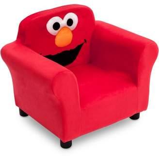At Walmart.com · Sesame Street Elmo Kids Upholstered Chair By Delta Children