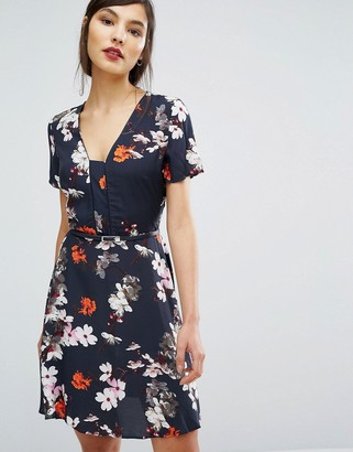 Oasis Blossom Print Dress $73 thestylecure.com