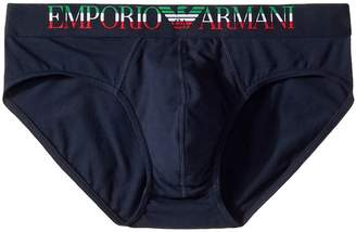 Emporio Armani Italian Flag Brief Men's Underwear