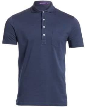 Ralph Lauren Purple Label Garment Dyed Pique Polo Tee