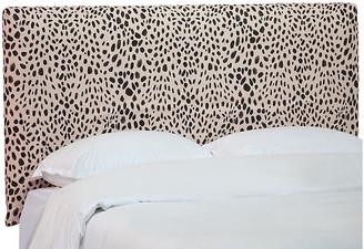 One Kings Lane Winston Slipcover Headboard - Cheetah