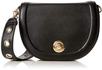 Pimkie Women's Scs18 Crossanse Top-Handle Bag Black