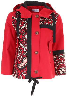 RED Valentino Jacket With Bandhana Embroidery