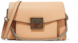 Givenchy Gv3 Small Leather Shoulder Bag - Beige