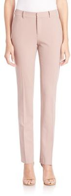 Ralph Lauren Collection Sydney Stretch Wool Pants $790 thestylecure.com