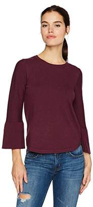 Max Studio Women's Tie Sleeve Sweater