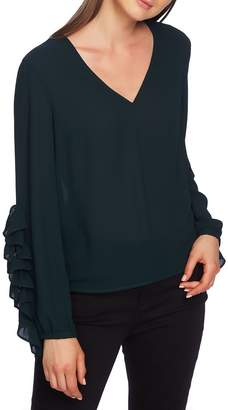 1 STATE 1.STATE Ruffle Sleeve Blouse