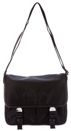 pradaPrada Tessuto Messenger Bag