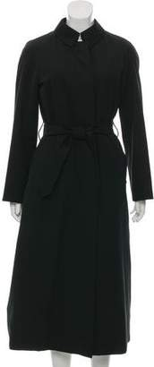 Burberry Belted Long Coat