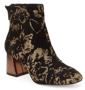 Nanette Lepore Nanette By Floral Brocade Booties