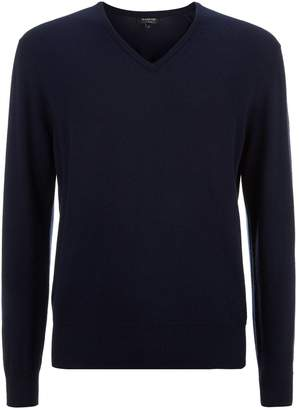 Harrods Cashmere V-Neck Sweater