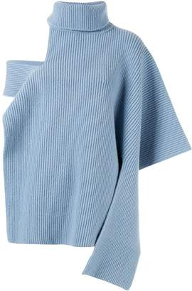 Ports 1961 roll neck knitted top