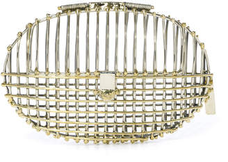 Anndra Neen Cooperativa Shop Cage Oval Clutch