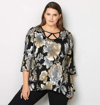 Avenue Foil Flower Cage Top
