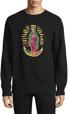 PRPS Kindhearted Embroidered Sweatshirt