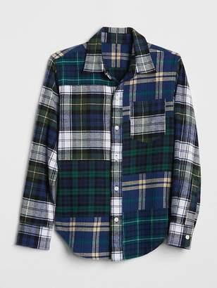 Gap | Sarah Jessica Parker Flannel Shirt