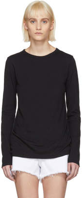 Rag & Bone Black Long Sleeve T-Shirt