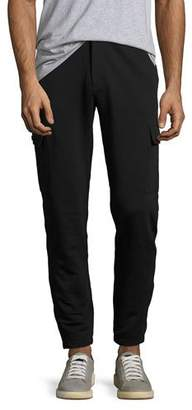 Michael Kors French Terry Cargo Sweatpants, Black $168 thestylecure.com