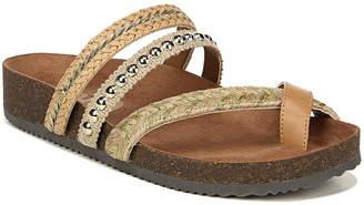 Sam Edelman Oleander Braided Metallic Flat Sandals