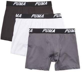 Puma Men's Solid Volume Boxer Brief (3 PK)