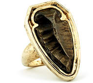 House Of Harlow 1960 Arrowhead Cocktail Ring Gold